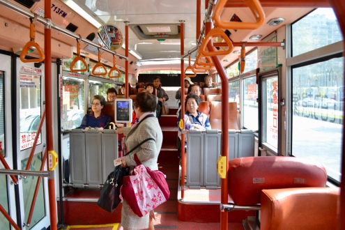 Inside the Public Bus