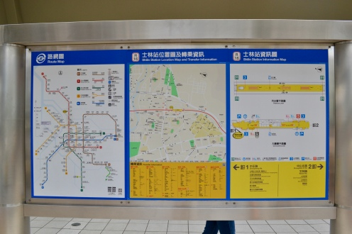 Map of Route, Map of Station Lcoation, Map of Station